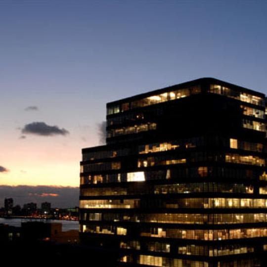 540 West 28th Street Manhattan - View of +Art