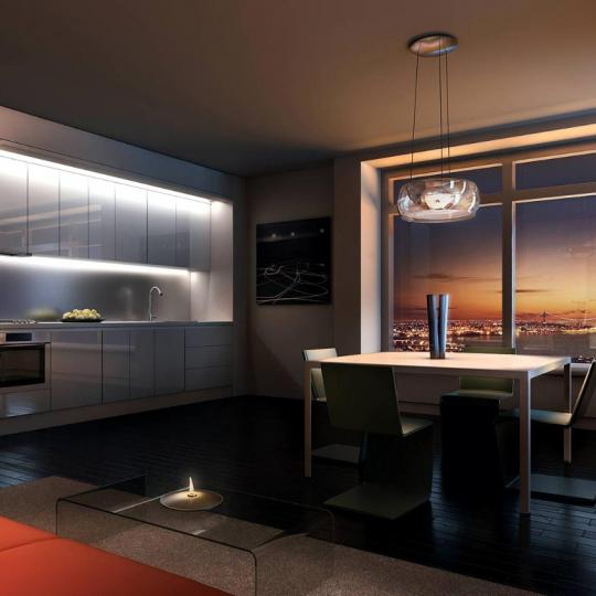 123 Washington Street Kitchen - Manhattan New Condos