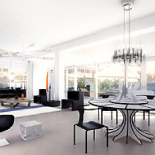 650 Sixth Avenue Sitting Area - NYC Condos for Sale