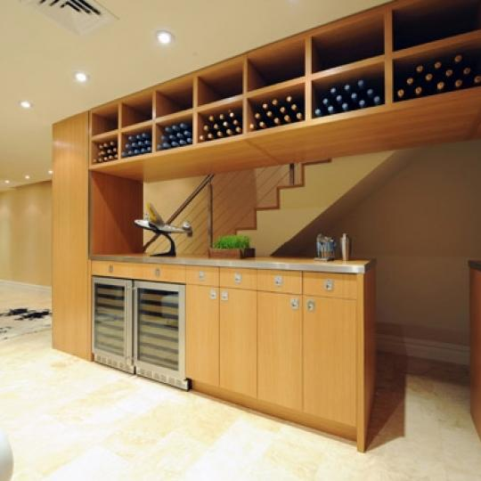 The Legacy New Construction Building Wine Cellar - NYC Condos