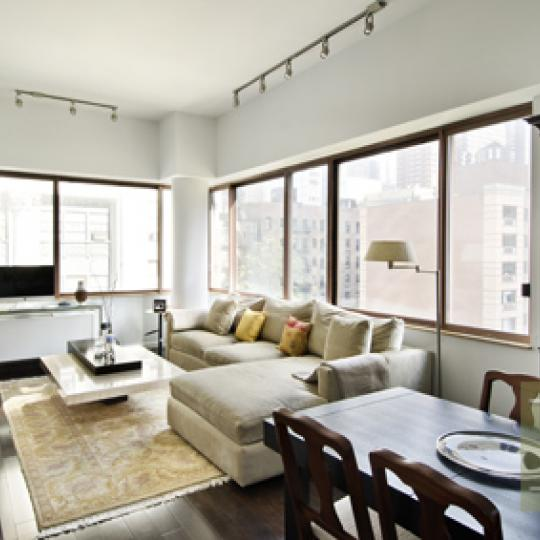 Worldwide Plaza - NYC condos for Sale - living area