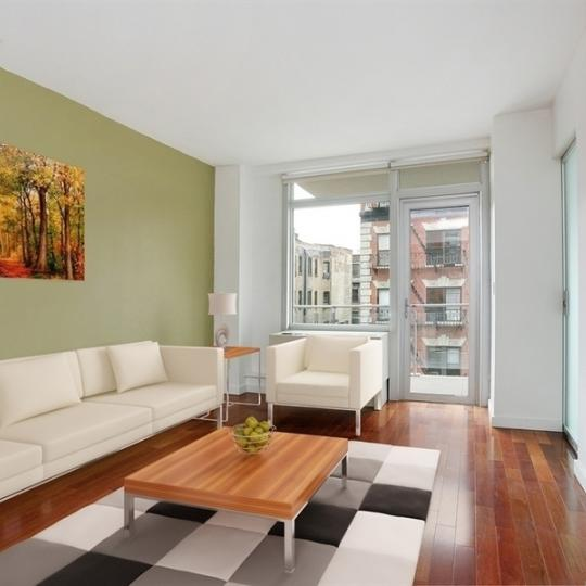 425 East 13th Street -Living room at A building