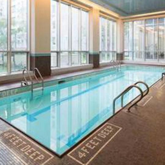 Adagio 60 New Construction Building Pool – NYC Condos