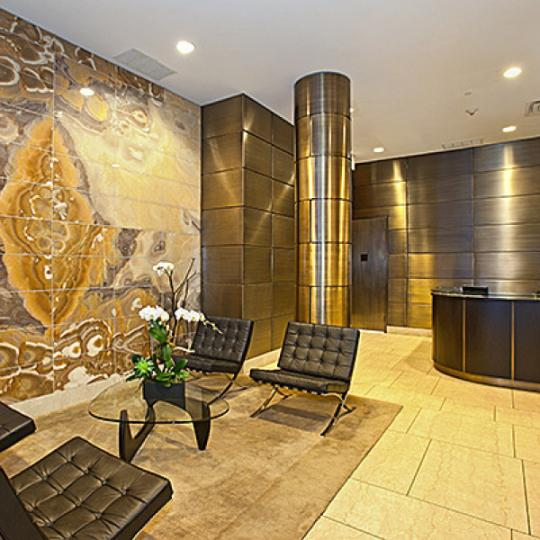 250 East 49th Street NYC Condos - lobby at The Alexander