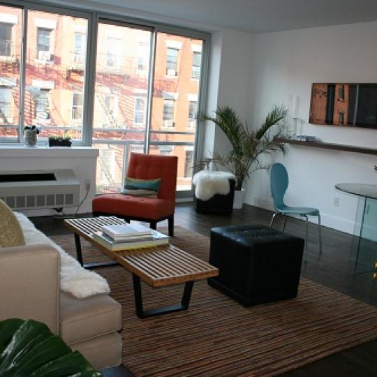 The Alto NYC apartments for sale - living room