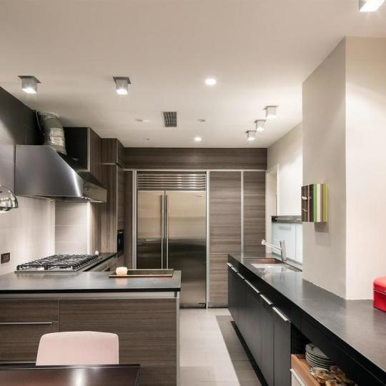 Open Kitchen at Ansonia Hotel in Upper West Side - Apartments for sale