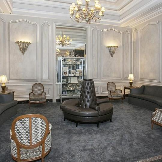 The Building's Lobby at Ansonia Hotel in NYC - Apartments for sale
