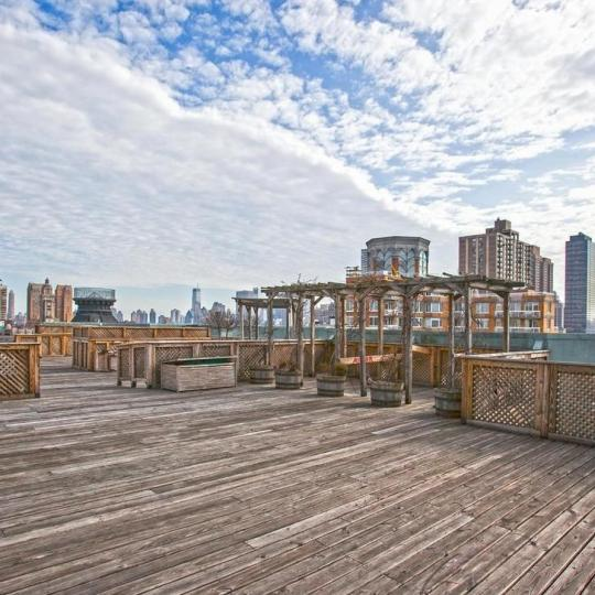 Rooftop Deck at 2109 Broadway in Upper West Side