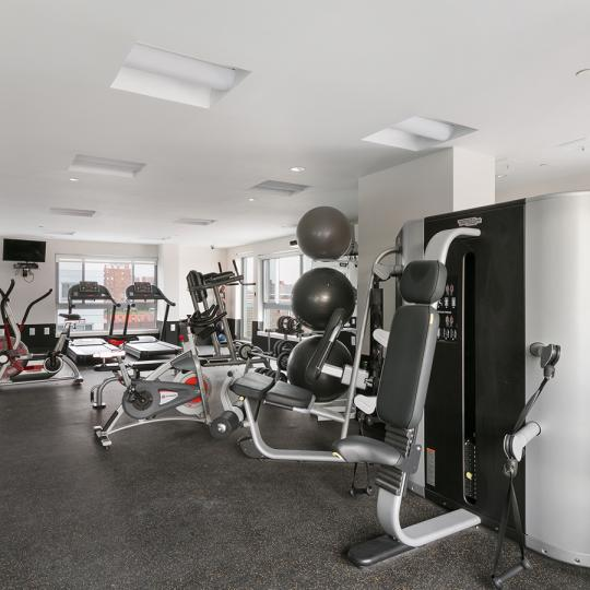 Apartments for sale at The Aurum Condominium in Central Harlem- Fitness Center