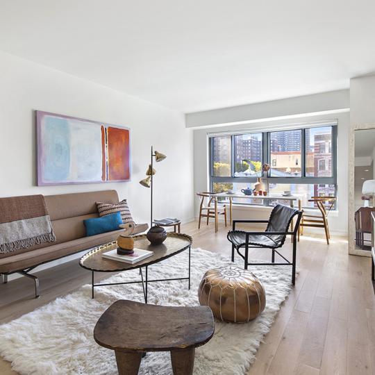 Living Room at 2231 Adam Clayton Powell Jr Boulevard in Manhattan