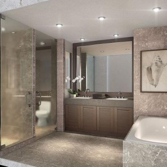 Bathroom - The Avenue Collection - Condominium for sale in Weehawken