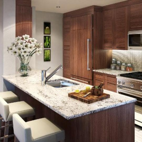 Kitchen - The Avenue Collection - Condominium for sale in Weehawken