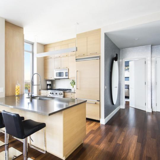 333 East 91st Street New Construction Condominium Kitchen Area