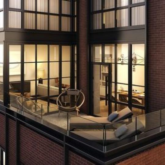 Balcony- 234 East 23rd Street condos for sale in NYC