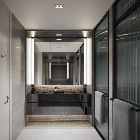Condos for sale at 505 West 19th Street in Chelsea - Bathroom