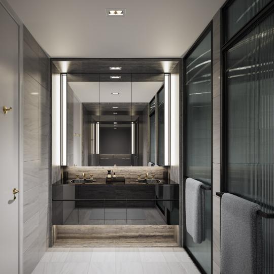 Bathroom- 505 West 19th Street- condominium for sale in NYC
