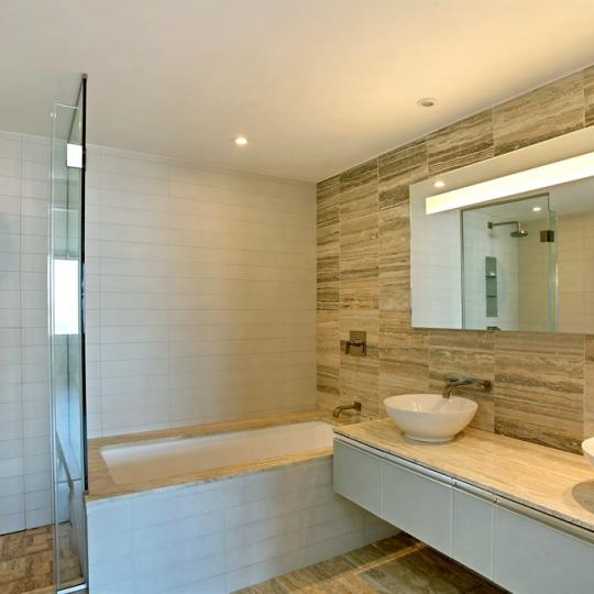 The Sheffield Bathroom at 322 West 57th Street - Manhattan Condos for Sale
