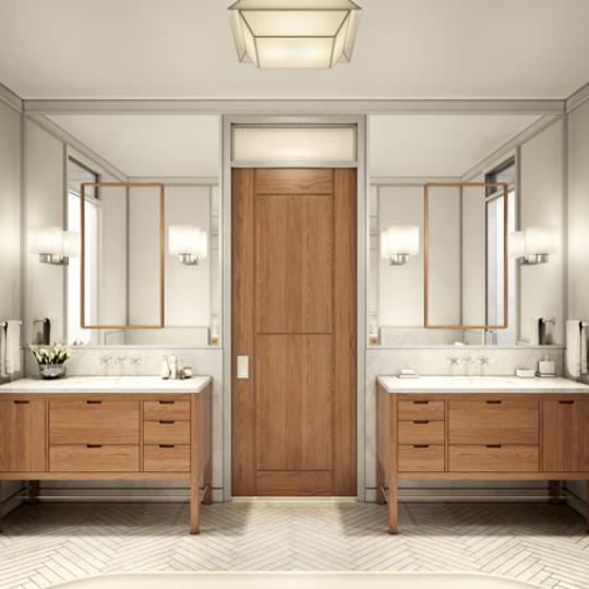 Bathroom of 71 Laight Street in Tribeca - NYC Apts for sale