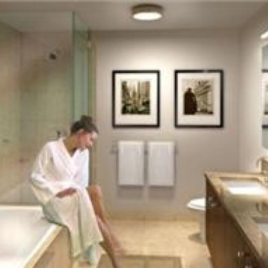 Millennium Towers Residences New Construction Building Bathroom - NYC Condos