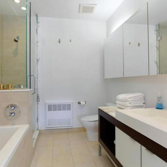 Bathroom at 20 Bayard Street - Apartment for Sale in Brooklyn