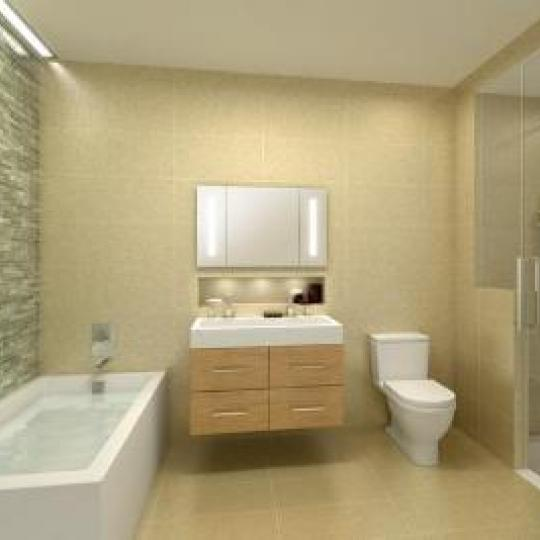 Bathroom - 22 Renwick Street - Soho - Manhattan Condos - NYC Sales