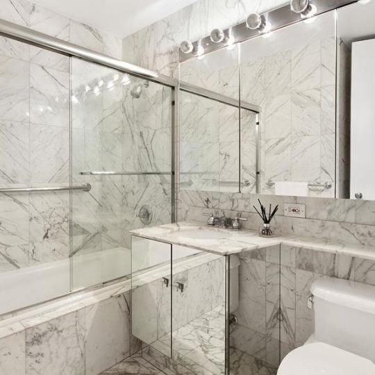 Bathroom at 308 East 72nd Street in The Knickerbocker