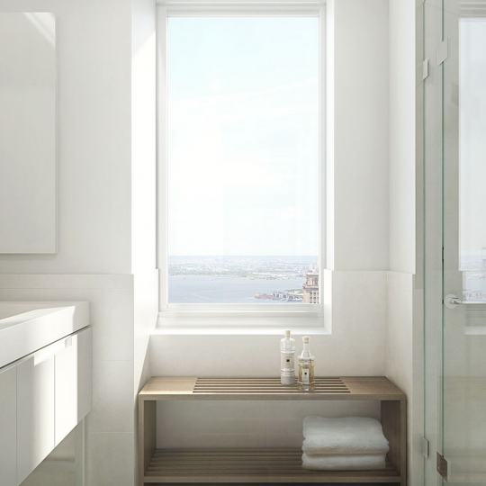 Bathroom- 388 Bridge Street- Apartments for sale in Downtown Brooklyn