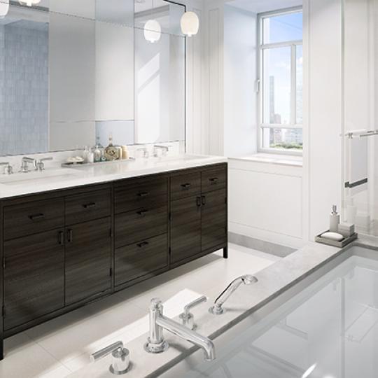 Bathroom - The Carlton House - Upper East Side