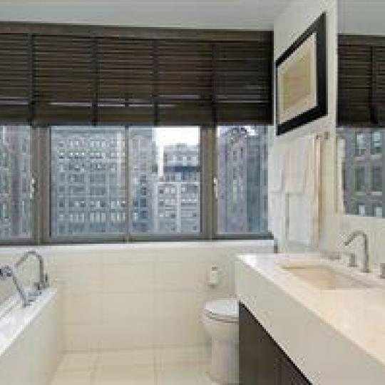 Bathroom - Luxury Condominiums in NYC - 4 West 21st Street