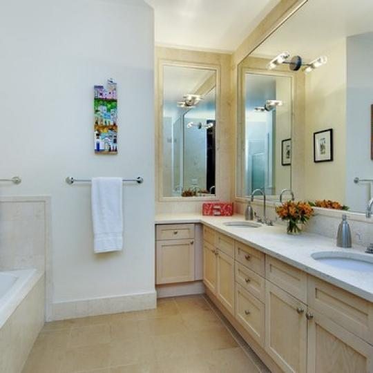 Bathroom -  Limestone - NYC Condos - Luxury Apartments for Sale