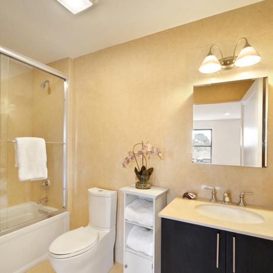 The Gateway Tower Bathroom - West Harlem Condominiums for Sale