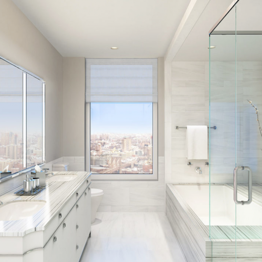 Four Seasons Hotel - Tribeca Apartments For Sale Bathroom Marble