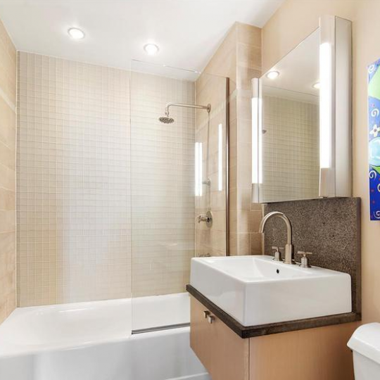 Bathroom - 120 Greenwich Street Apartments for Sale