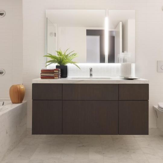 Bathroom - 421 Hudson Street Greenwich Village - Condominiums for Sale