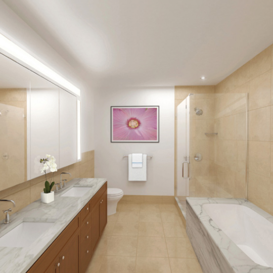 9 College Place Apartments for Sale - Bathroom