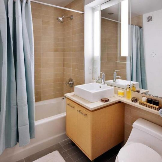 Bathroom at 306 Gold Street Building - Brooklyn Condos for Sale