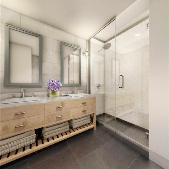 Bathroom - The Bindery - Apartment for sale - Long Island City