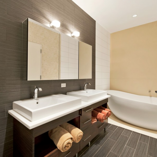Bathroom - The Cammeyer NYC Condos - 650 Sixth Avenue