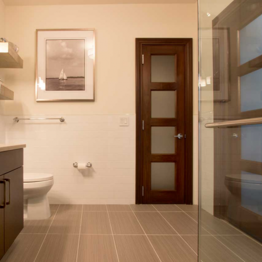 Bathroom at The Pearl- nyc condo for sale