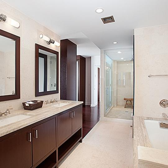 100 Riverside Boulevard New Construction Condominium Bathroom