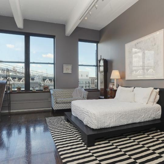 Bedroom- 1 Main Street- NYC condo for sale