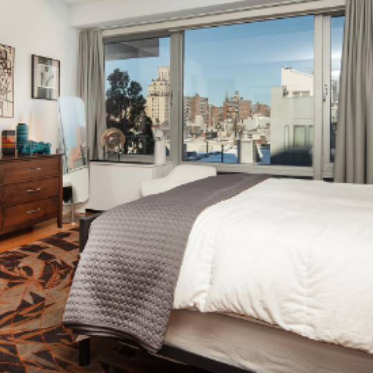 Bedroom- 245 West 19th Street- condominium for sale in NYC
