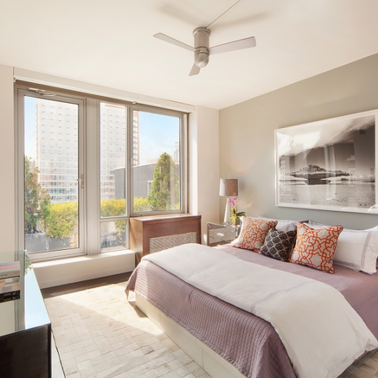 Bedroom- 444 West 19th Street- condominium for sale in NYC