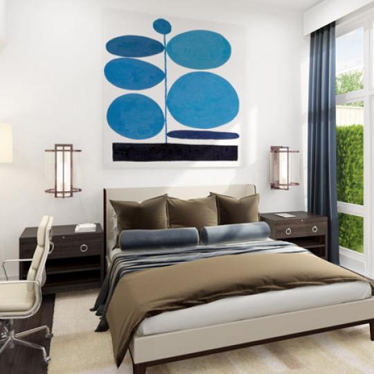 Bedroom- 72 Poplar Street- NYC condo for sale