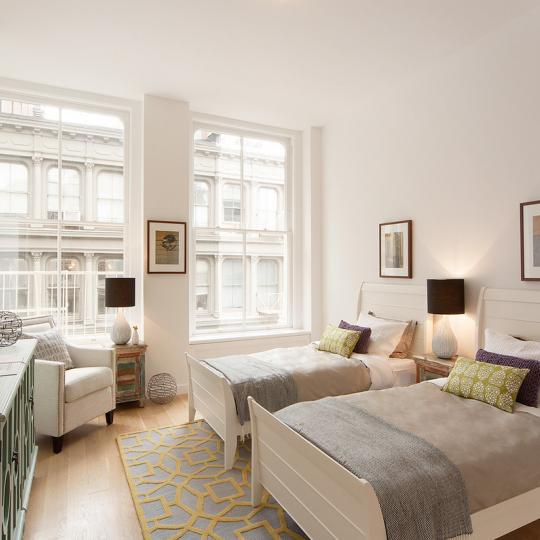111 Mercer Penthouse Bed room - Apartments for Sale in New York