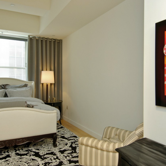 Bedroom - Downtown by Starck - NYC Condos