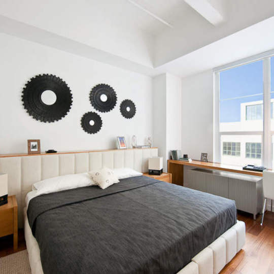 Apartments for sale at Austin Nichols House in Brooklyn - Bedroom