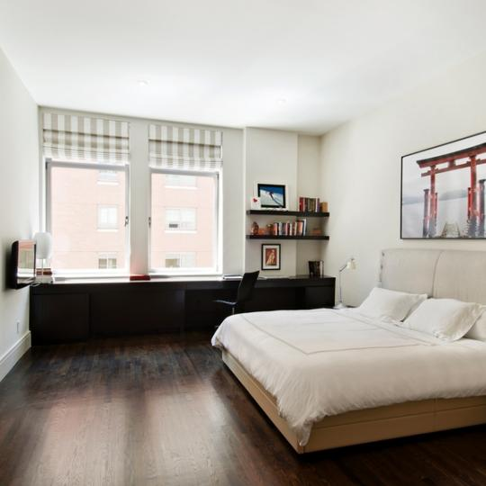 Bedroom - NYC Chelsea Mercantile Building - Luxury Condos