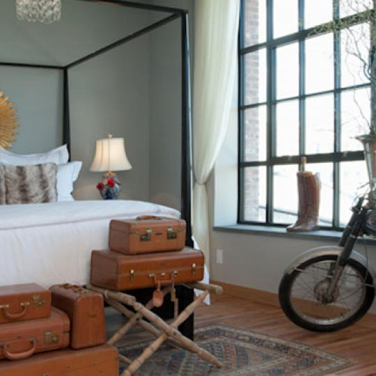 Bedroom-37 Bridge Street- Kirkman Lofts