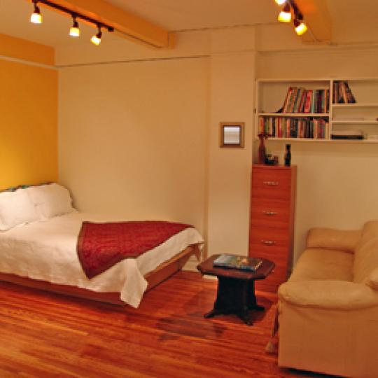 Bedroom - 457 West 57th Street - New York Co Ops